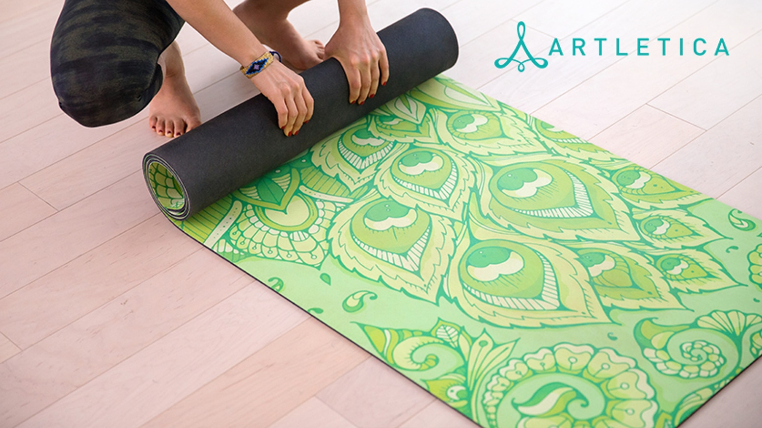 Join the Revolution of Beauty with the Most Gorgeous Natural Rubber Yoga Mat in History!