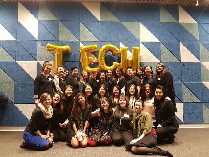 Women in Tech Volunteer Team