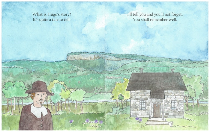 Hugo the Huguenot is a children's book about the journey of the Huguenots starting in France and ending in their home in New Paltz, NY. Buy the book at: https://historic-huguenot-street-museum-shop.myshopify.com/