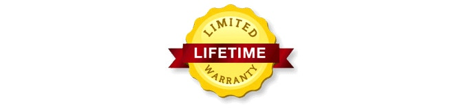 The Limited Lifetime warranty will cover any manufacturing defect. For the electronics, a 1-year standard, parts and labor warranty will apply.