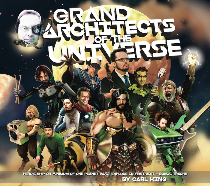 Carl King's New Album: Grand Architects Of The Universe by Carl King