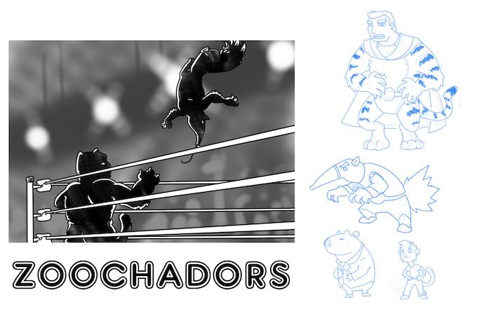 Zoochadors teaser art by Traci Shepard