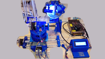 GemCreator - a 3D Printed Gemstone Faceting Machine