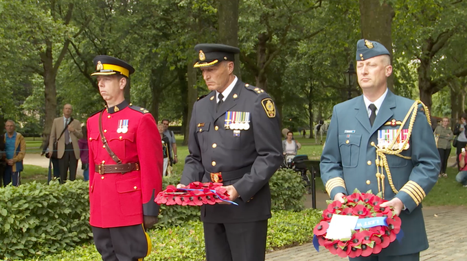 Honouring the Fallen Moncton RCMP officers