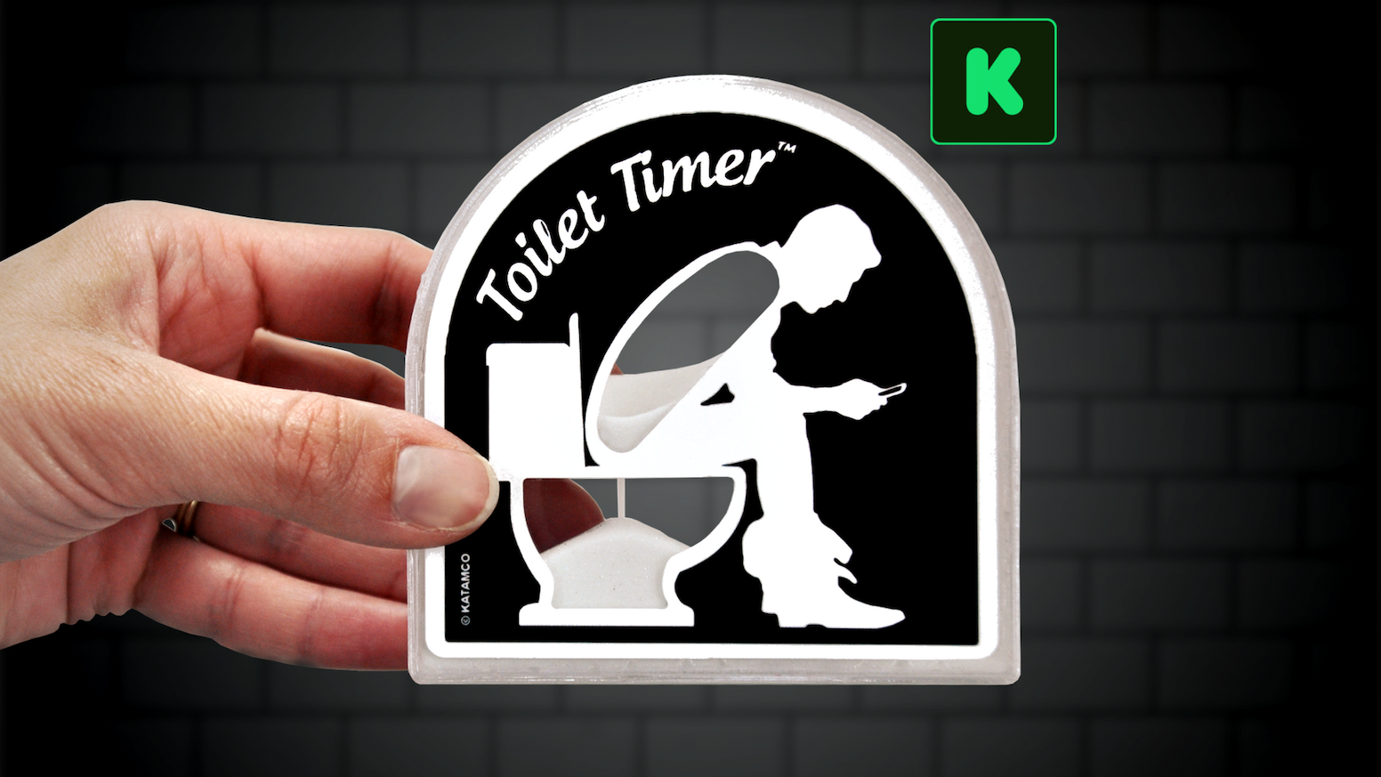 The Toilet Timer by Katamco — Kickstarter