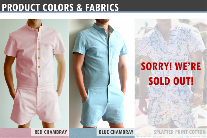 f8713b9efba4 Our first run sold out in less than a week! Check out new styles for  pre-order on via the RompHim website!
