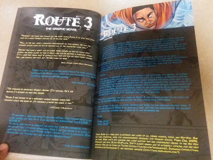Interior of Route 3: Vol 1