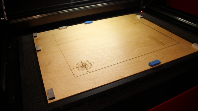 Ready for the laser-cutter