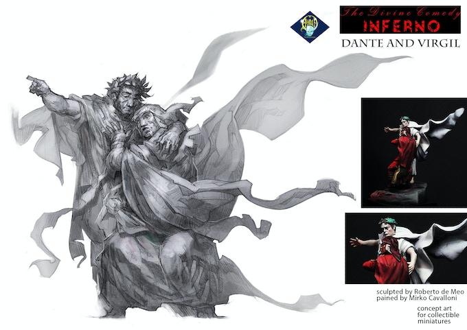 ba031a8f Aradia Miniatures - The Divine Comedy: Dante's Inferno by Aradia ...
