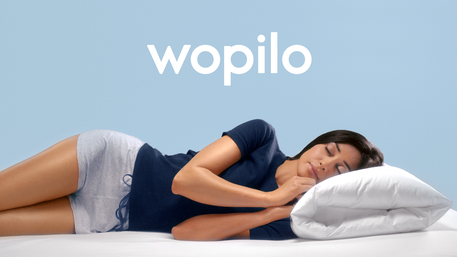 The only pillow that is comfortable, ergonomic and allows you to choose your comfort level. Meet Wopilo, your new sleeping partner!