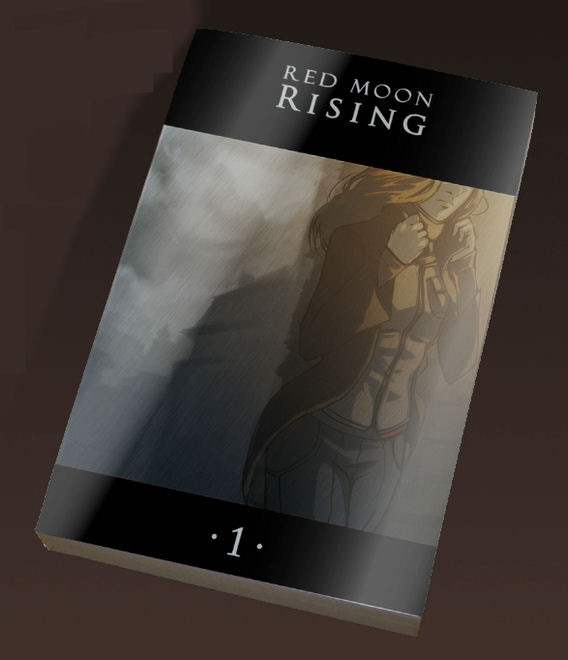 Mockup of volume 1 of the graphic novel