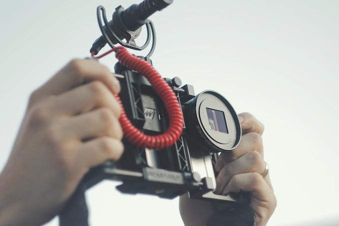 Beastgrip Pro with 1.33X Anamorphic Lens