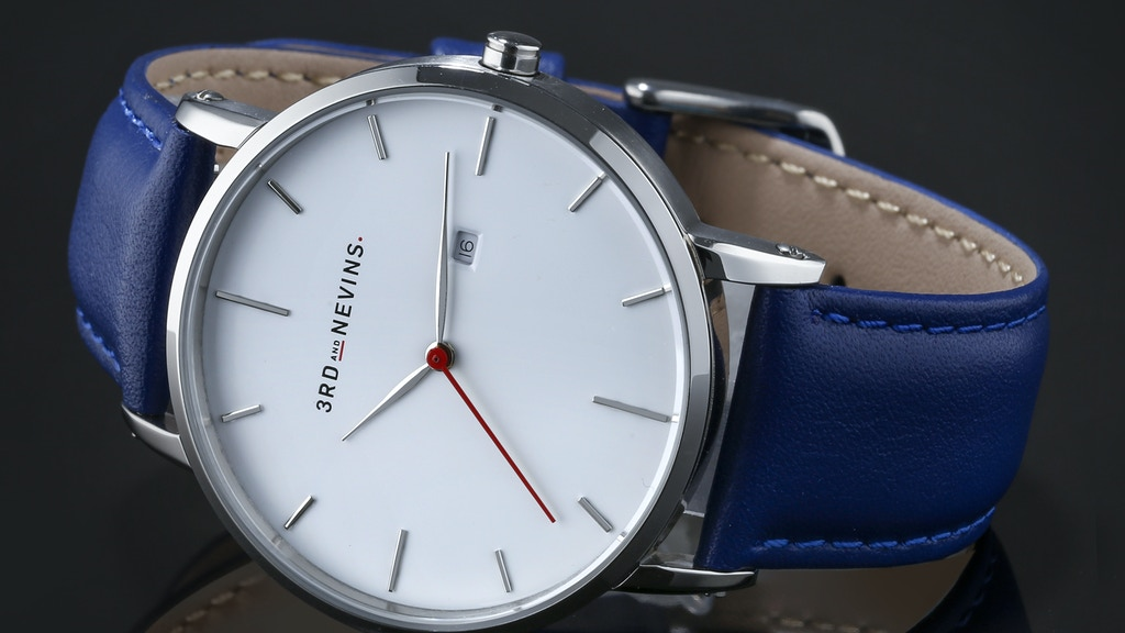 Chic luxury watches by 3RD AND NEVINS WATCHES project video thumbnail