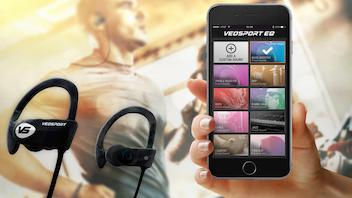 VEOSPORT - Bluetooth Earphones with Truly Custom Sound