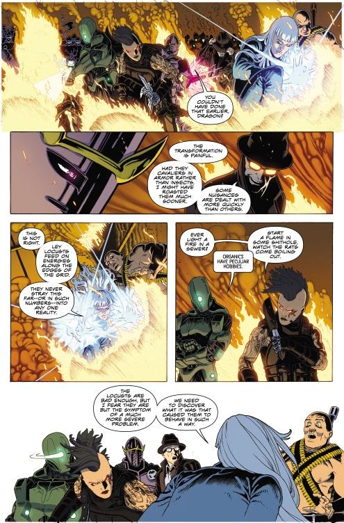Page 09 - Warlock 5 Artwork by Jeffrey Edwards & Andy Poole