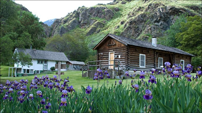 The historic Kirkwood Museum in Hell's Canyon.