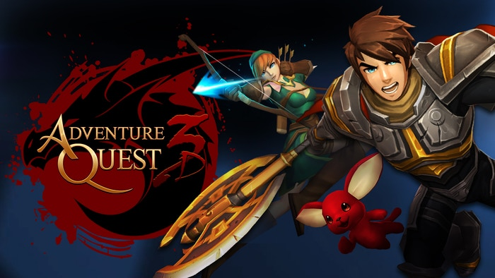 AdventureQuest re-imagined as a 3D MMORPG that lets you play online with your friends from your phone, tablet or PC.