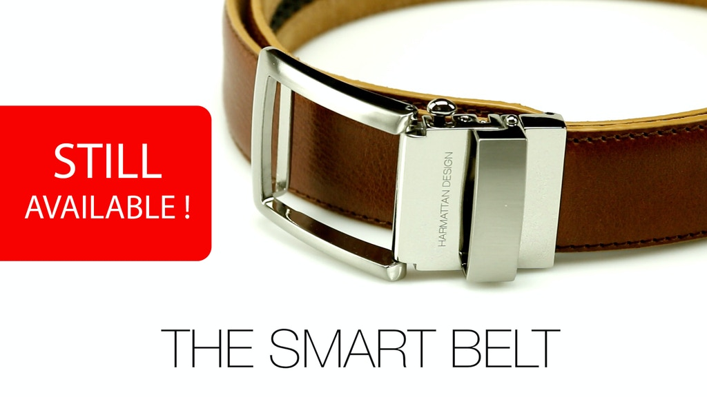 SMART BELT - Kevlar® Core Indestructible & Micro Adjustment project video thumbnail