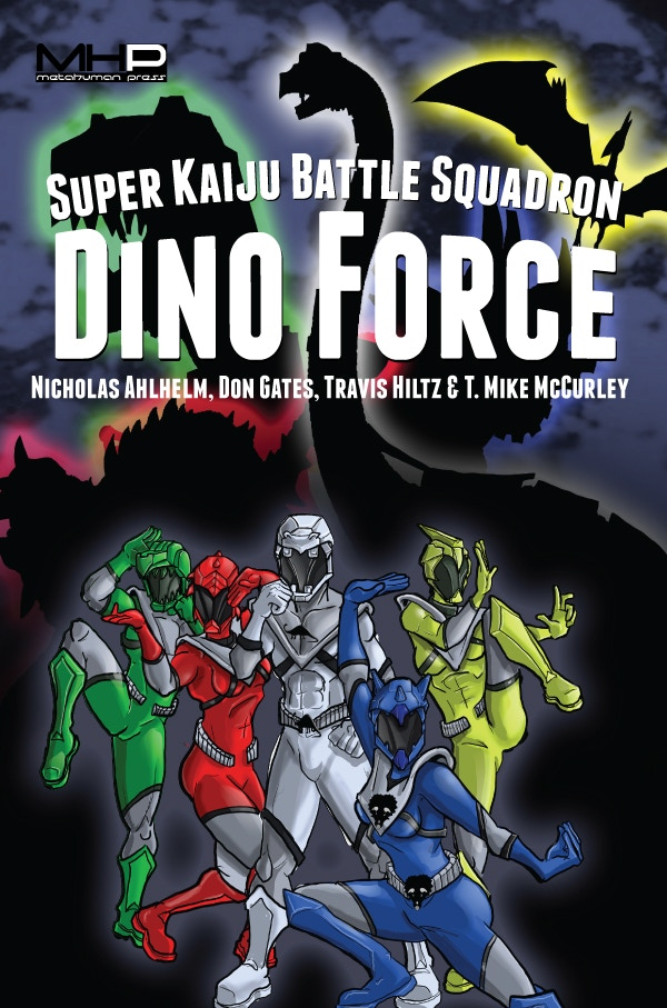 Chris Hebert's cover to Dino Force.