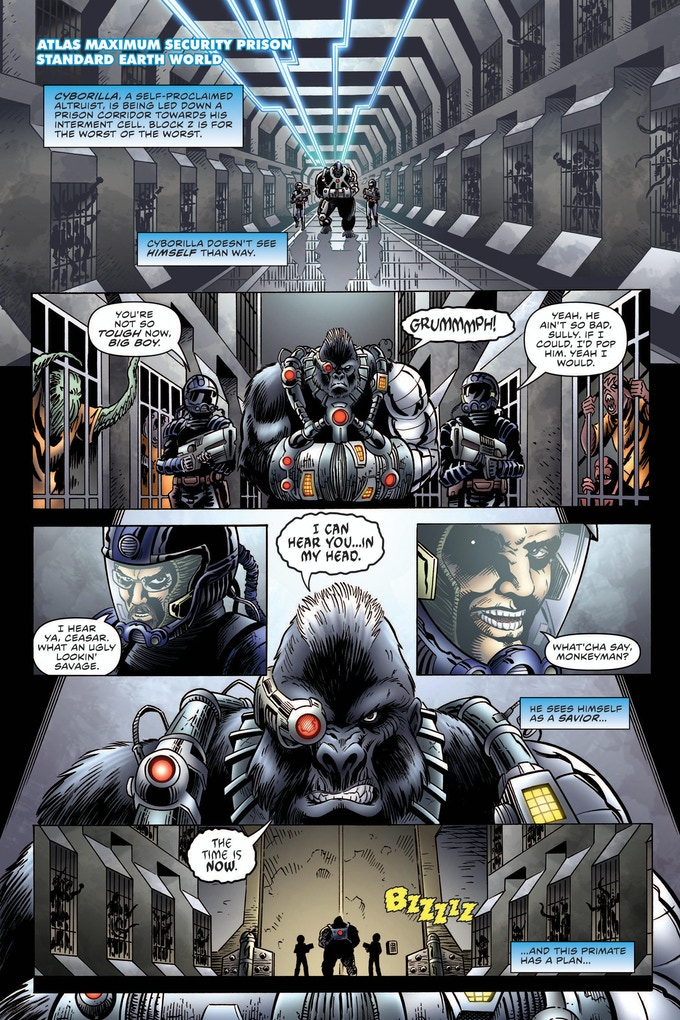 The Power Company #1 Page 1