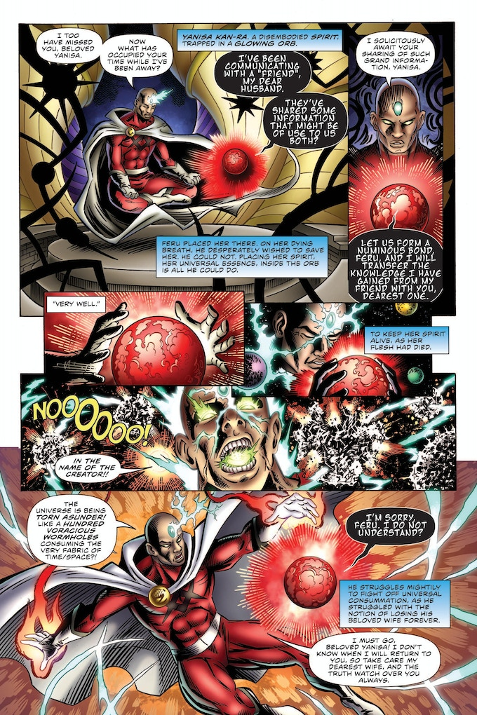 The Power Company #1 Page 3