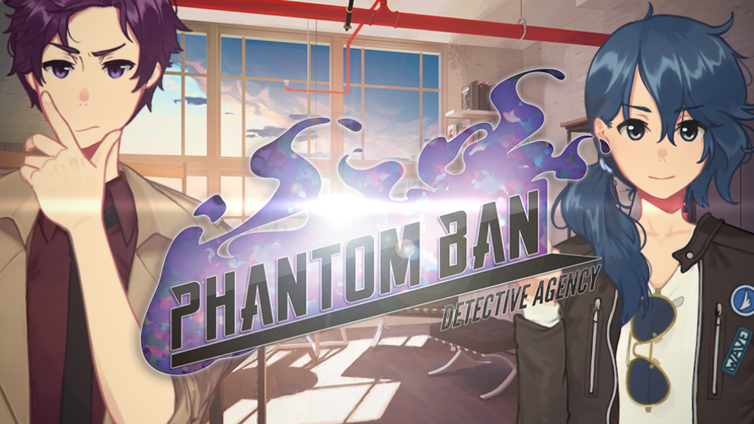 A mystery visual novel revolving around two high school detectives who solve cases involving strange beings called Phantoms. GxG/GxB