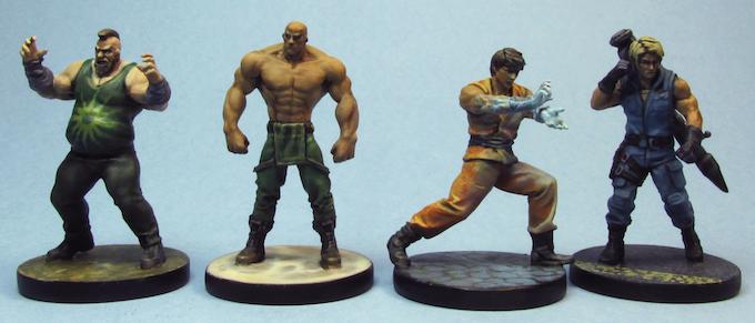 Boris, Drago, Kyoryu, Dmitri