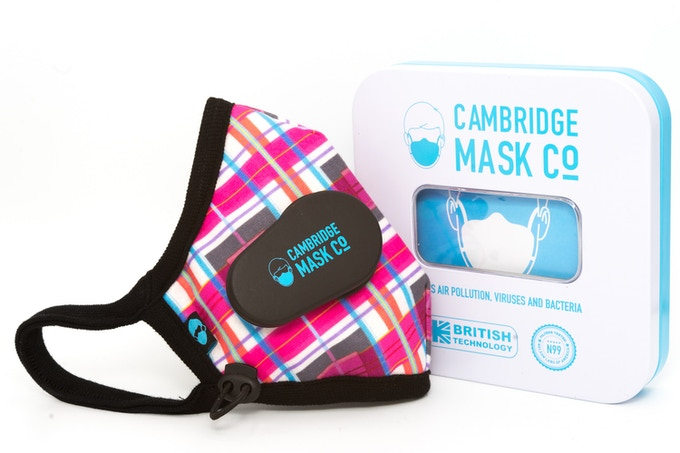 Smart Cambridge Mask: You & Clean Air, Connected by ...