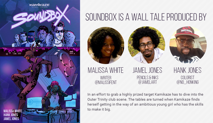 Soundbox is currently still running at KamikazeComic.com!
