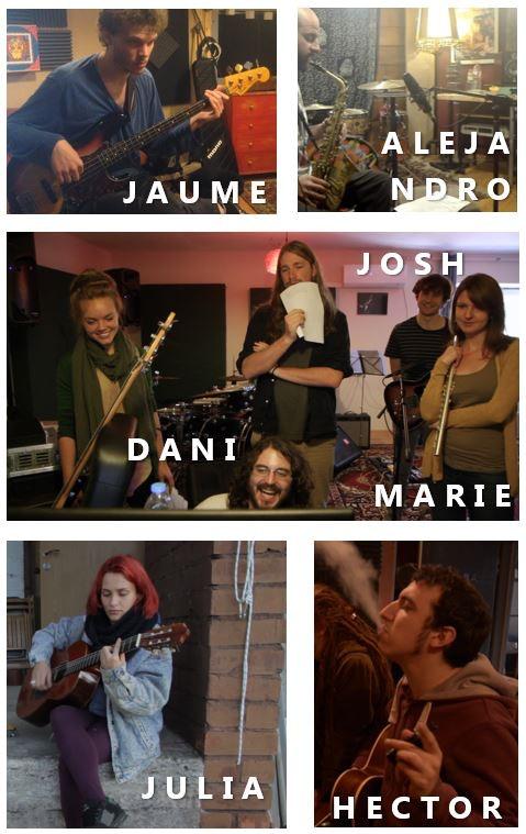 Jaume Avila (Bass), Alejandro Delgado (Saxo), Marie Jihlavcová (Flute), Daniel Morillas (Studio), Josh Todd (Guitarr), Júlia Isern (Vocals), Héctor Canut (Guitarr)
