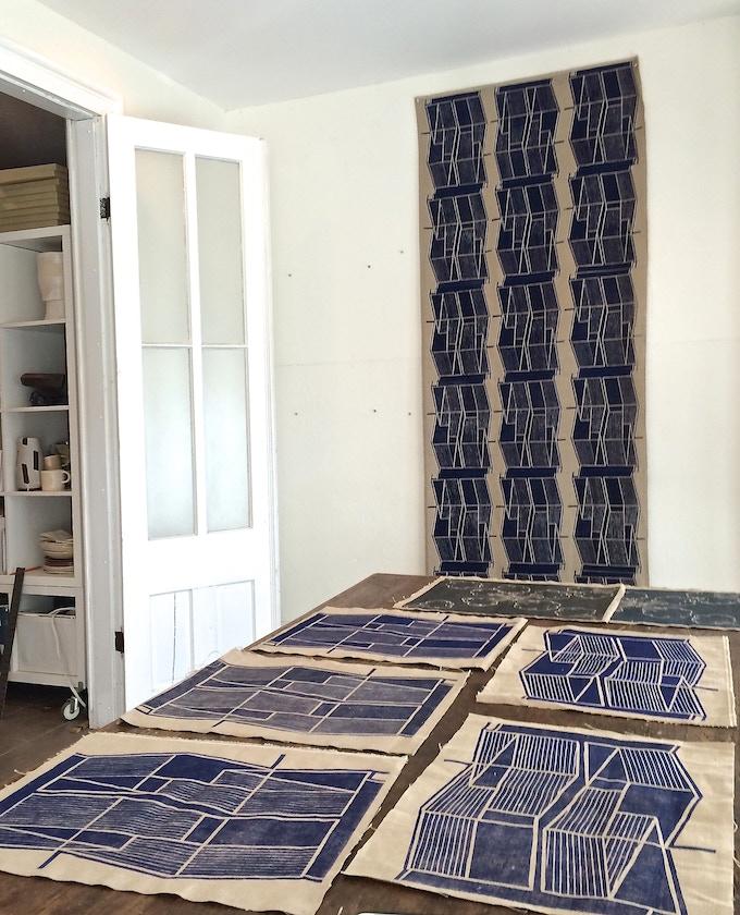 Elise Ferguson, full panel and placemats