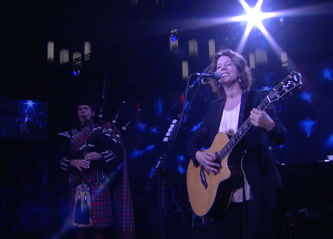 Sarah McLachlan performs with the VPPB!