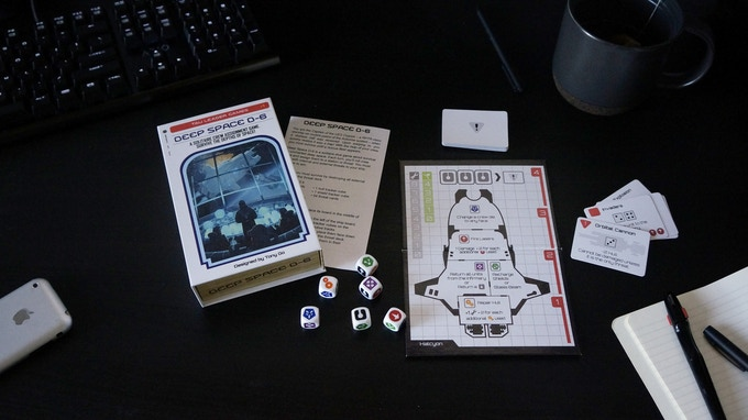 Reissue of Deep Space D-6 and new Mini-Expansion.