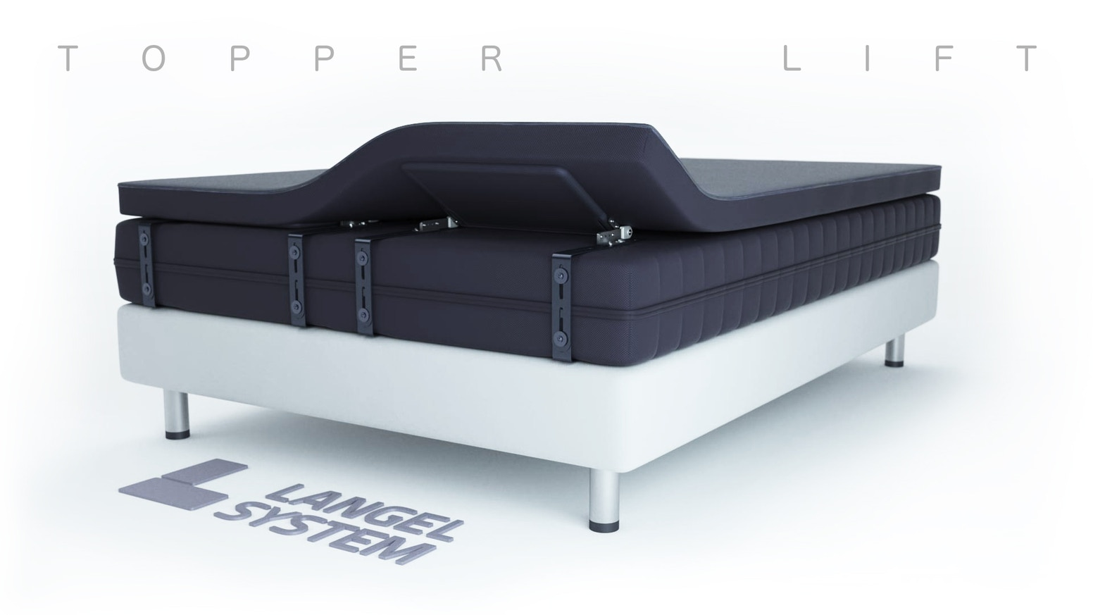 Topmatras Swiss Sense.Topper Lift Reinvent The Mattress By Langel System Reinvent The
