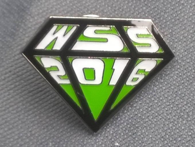 WSS 2016 Pin Badge