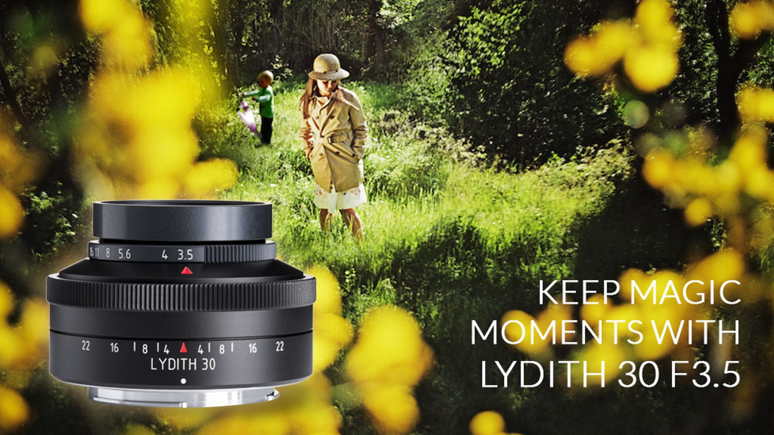 Help us to create a mind-changing lens for you - to express life´s magic in your images.