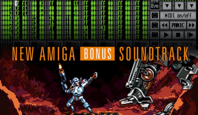 A virtual Turrican 4 OST, recorded on original Amiga hardware