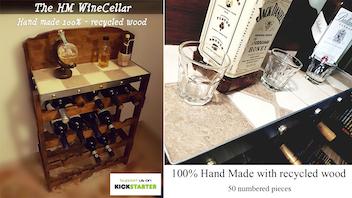 HW Wine Cellar 100% hand made