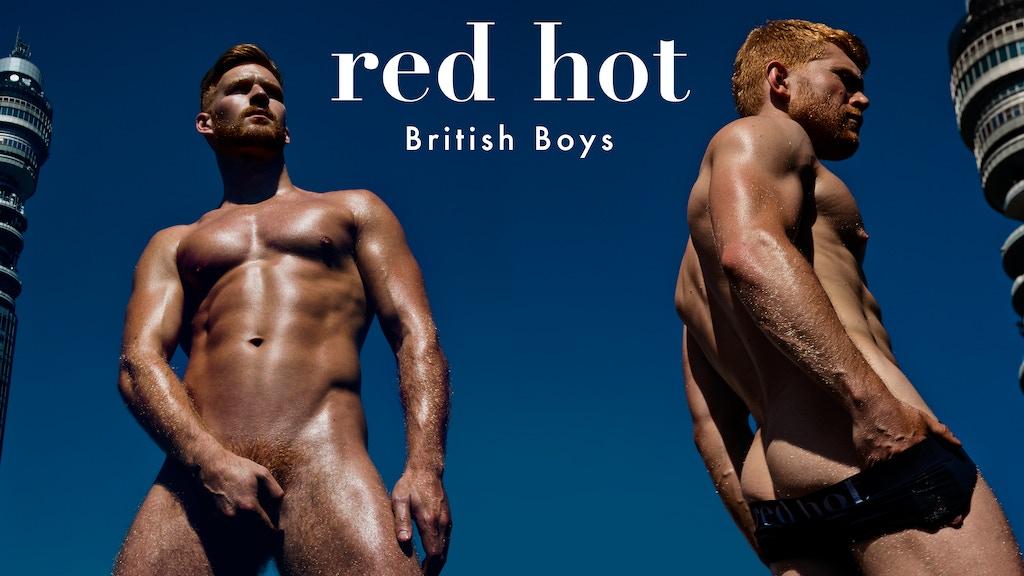 RED HOT BRITISH BOYS - 2018 CALENDAR project video thumbnail