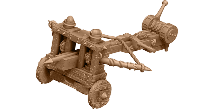 3D render of the Ballista.
