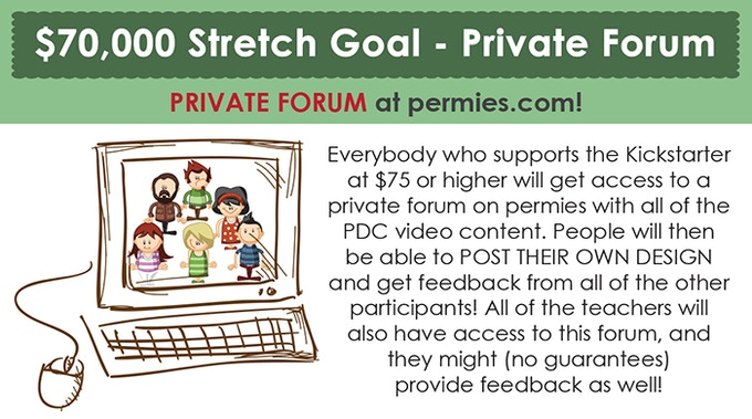 at $70,000 we will make a new permaculture design course forum!