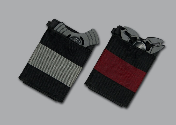 X-Flex Mini has 2 different colors strip for you to choose. Black/Red strip and Black/Gray strip