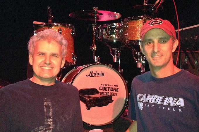 Roy and John, enjoyin' a night away from developin'