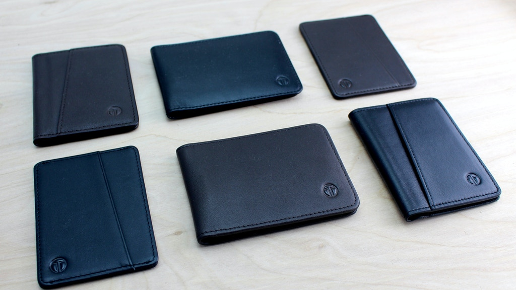 SLIM BIFOLD WALLET- Best bifold wallet with modern features. project video thumbnail