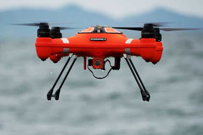 Splash Drone 3 Fisherman with Payload Release System