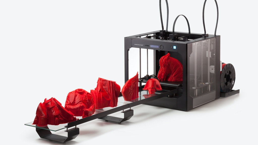 OPENCREATORS BS210, 3D printer with Auto build plate Changer project video thumbnail