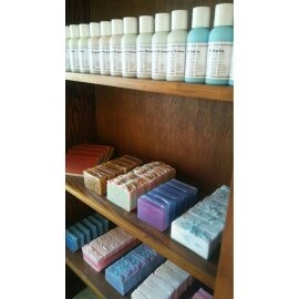 Just some soaps and lotions!