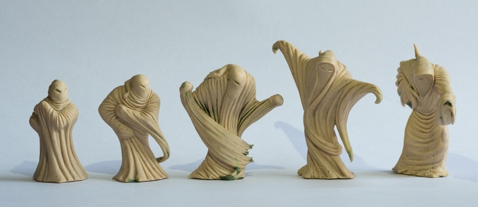 Picture of the sculpts