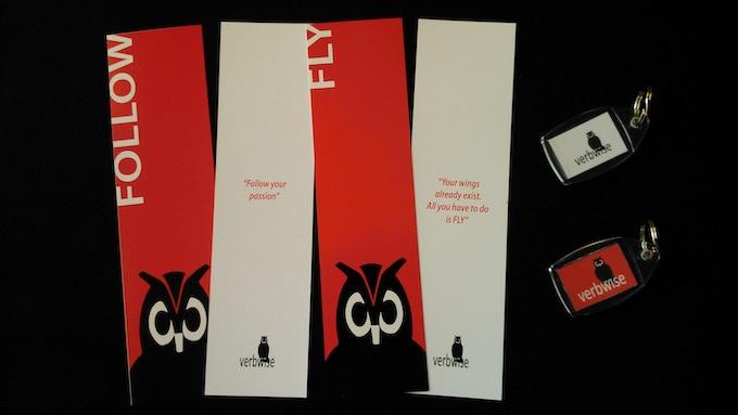 Verbwise bookmarks & keyrings
