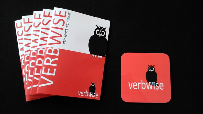 Verbwise mini reference dictionary & coaster